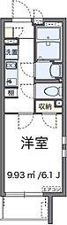 東京メトロ有楽町線 平和台駅 徒歩12分の賃貸マンション 3階1Kの間取り