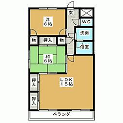 セントラル22[1階]の間取り