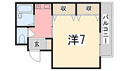 Smile東今宿[2階]の間取り