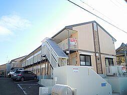 大阪府豊中市永楽荘1丁目の賃貸アパートの外観