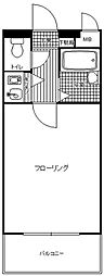 ロマネスク井尻第2[104号室]の間取り