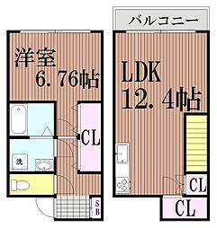 [一戸建] 東京都大田区池上1丁目 の賃貸【/】の間取り