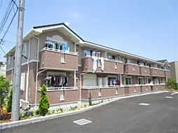 東京都日野市高幡の賃貸アパートの外観