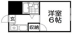 センチュリー藤阪[1階]の間取り