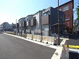 東京都江戸川区中央3丁目の賃貸アパートの外観