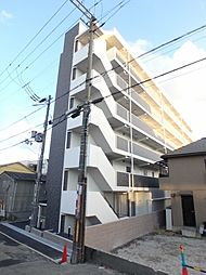 大阪府豊中市服部西町3丁目の賃貸マンションの外観