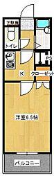 ヴィラ333[106号室]の間取り