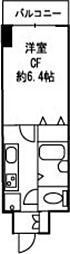 ドミール川崎[2階]の間取り