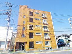東京都昭島市宮沢町3丁目の賃貸マンションの外観