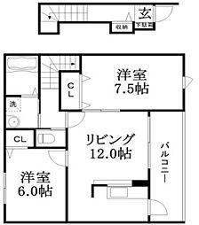 スプランディードⅠ[2階]の間取り