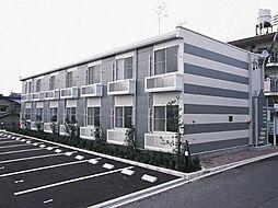 愛知県みよし市三好町蜂ヶ池の賃貸アパートの外観