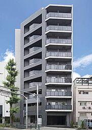 東京都渋谷区千駄ヶ谷4丁目の賃貸マンションの外観