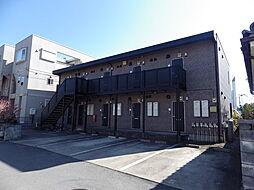 埼玉県川越市大字大袋新田の賃貸アパートの外観