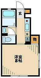 【敷金礼金0円!】京王線 平山城址公園駅 徒歩5分