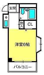 ウエルス本郷ハウス[3階]の間取り