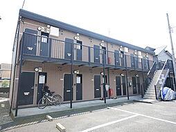 神奈川県厚木市下荻野の賃貸アパートの外観