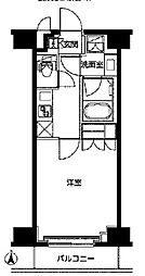 東武東上線 東武練馬駅 徒歩9分の賃貸マンション 2階1Kの間取り