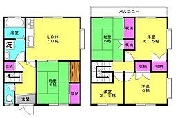 小川マンションA[A102号室]の間取り