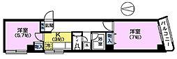 第二豊明ビル[2階]の間取り