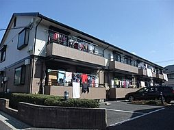 東京都練馬区田柄4丁目の賃貸アパートの外観