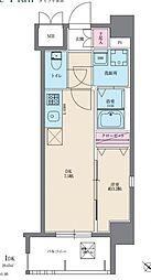 イクシオン美野島[703号室]の間取り