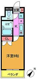 サンクレスト新浦安[2階]の間取り