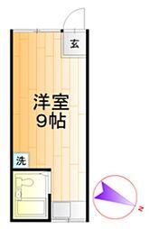 光立荘[2階]の間取り