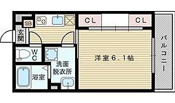 Rcm淡路[2階]の間取り