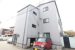 新潟県新潟市中央区天明町の賃貸アパートの外観