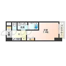 サムティ福島PORTA[5階]の間取り