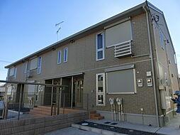 千葉県千葉市緑区おゆみ野中央6丁目の賃貸アパートの外観