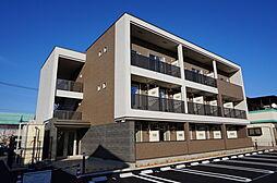 栃木県小山市西城南4丁目の賃貸マンションの外観