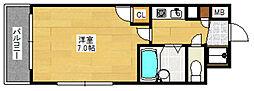 ピュアドームプレシオ博多[3階]の間取り