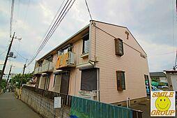千葉県市川市国府台6丁目の賃貸アパートの外観