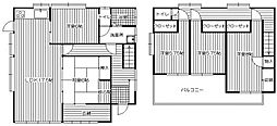 [一戸建] 福岡県筑紫郡那珂川町今光3丁目 の賃貸【/】の間取り