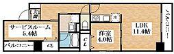 Osaka Metro谷町線 平野駅 徒歩6分の賃貸マンション 3階1SDKの間取り