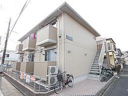 神奈川県相模原市南区新磯野3の賃貸アパートの外観