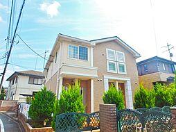 東京都八王子市越野の賃貸アパートの外観