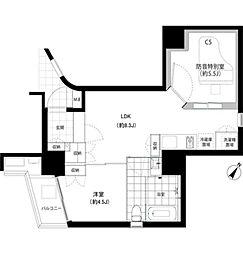 SHINKA[3階]の間取り