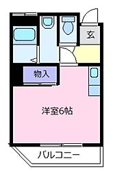 桂マンション[3階]の間取り