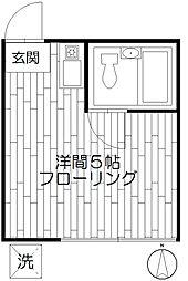 パークイースト東高円寺[2階]の間取り