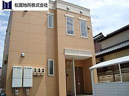 愛知県豊橋市飯村南1丁目の賃貸アパートの外観