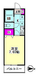 Polaris Haneda[102号室]の間取り