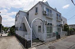 神奈川県海老名市国分南3丁目の賃貸アパートの外観