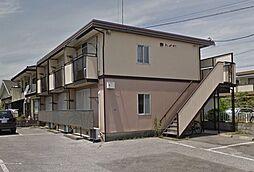 栃木県宇都宮市弥生2丁目の賃貸アパートの外観