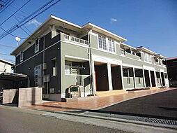 神奈川県高座郡寒川町岡田5丁目の賃貸アパートの外観