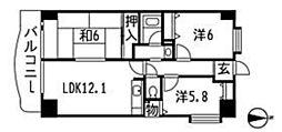マノワール泉[13階]の間取り