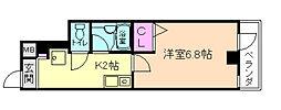 リックリグ塚本[6階]の間取り