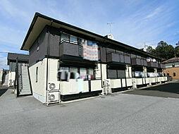 栃木県宇都宮市宝木町2の賃貸アパートの外観