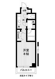 東京都練馬区豊玉北6丁目の賃貸マンションの間取り